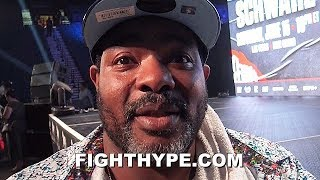 """CRAWFORD TRAINER BOMAC CRITICAL OF JOSHUA TRAINERS FOR RUIZ LOSS; EXPLAINS WHY """"WILDER'S THE BEST"""""""