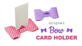 折り紙カードスタンドの折り方・作り方10選|席札にも♡