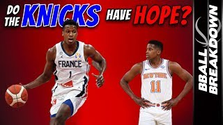 The New Frank Ntilikina Gives Knicks Fans Playoff Hope