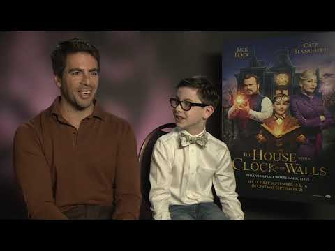 """Eli Roth & Owen Vacarro Talk """"The House With A Clock In Its Walls"""""""