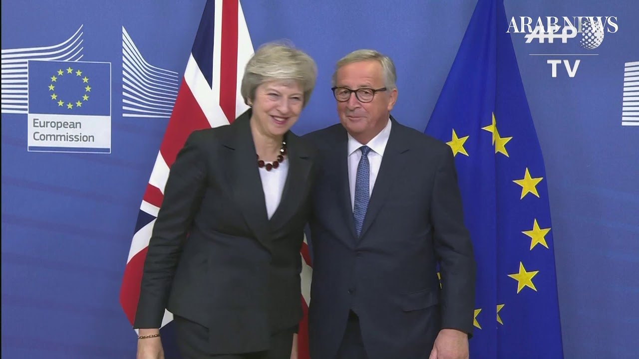 Theresa May in Brussels for final stages of Brexit negotiations