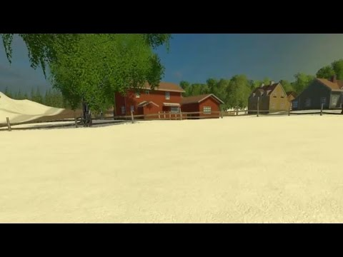 Snow Map in Farming Simulator 2015 Winter Snow Mod