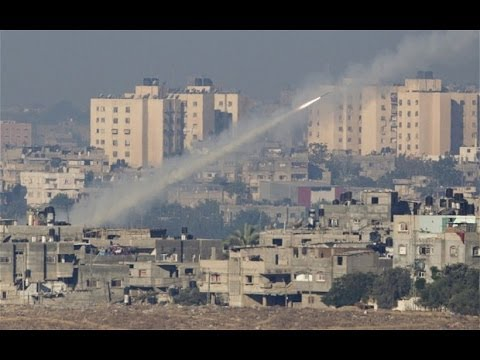 Hamas Rockets Reach Jerusalem & Tel Aviv, Dozens of Gaza Strikes by Israel