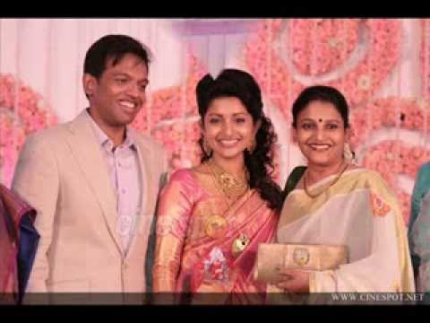 Meera Jasmine Marriage Wedding Reception Video video