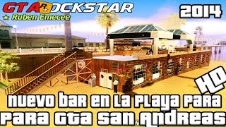 Descargar Bar En La Playa HD  Para Gta San Andreas 2014