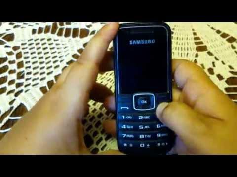 Samsung GT E1050 Review