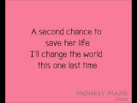 MonkeyMajik - Hero(Eng Ver.)with Lyrics.wmv