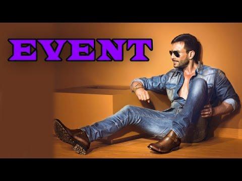 Saif Ali Khan promotes a shoe brand   Bollywood News