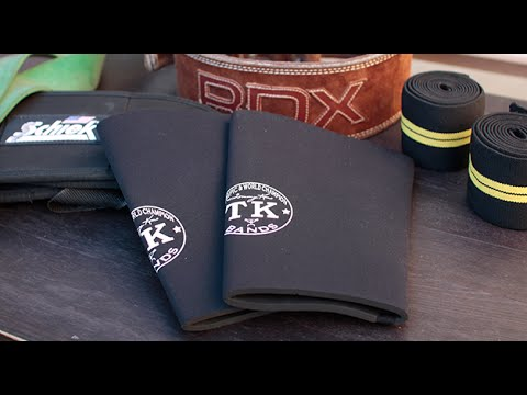 TK Knee Sleeve and Cap Barbell Knee Wraps Review [Knee sleeves vs Knee Wraps]