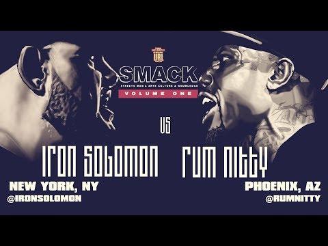 IRON SOLOMON VS RUM NITTY SMACK/ URL RAP BATTLE | URLTV