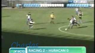 Goles Giovanni Moreno - Amistoso, Racing vs. Huracan