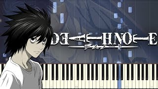 Low of Solipsism (Death Note) Synthesia