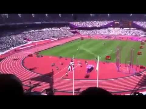 Usain Bolt WINS His 2nd Race Easily of the London 2012 Olympics LIVE 8 5 12