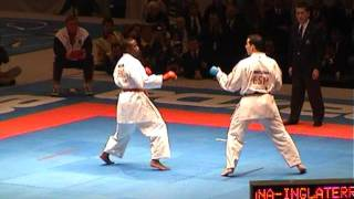 World Championship 2.002 - Final Kumite Team Male- England Vs Spain - Fight 3