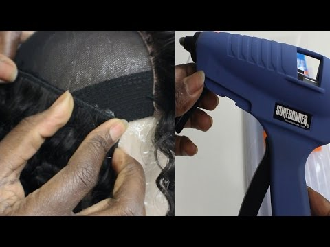 Wig Tip  Hot Glue Gun Fold Over Method w/Evawigs Extentions