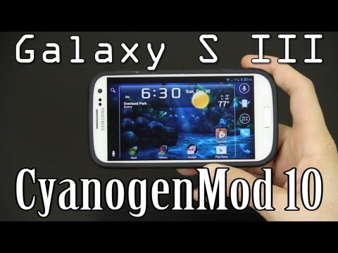 My Review of CyanogenMod 10 on the Sprint Samsung Galaxy S3 / III