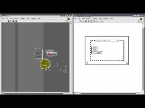 NI LabVIEW: Display mouse coordinates