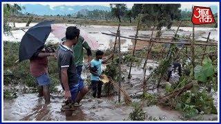 Odisha में तूफान 'Titli' ने मचाया कहर, अपनी जान बचाने के लिए लोग घर छोड़ने को मजबूर