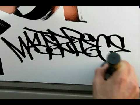 Graffiti Supplies Demo by Art Primo: Masterpiece Marker