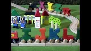 ABC Alphabet Train Music Video Song | Children Learn Letters Phonics
