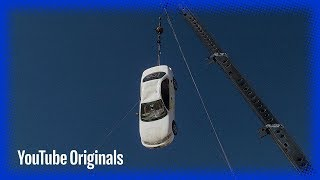 Dropping a Car from a Crane