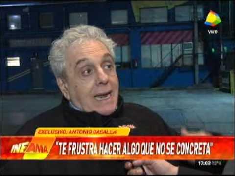 Antonio Gasalla habló de política y los actores militantes