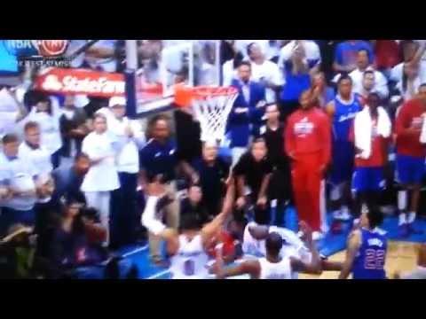 Reggie Jackson - OKC vs LA CLIPPERS - GAME 5 2014 Playoffs