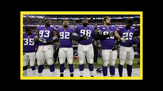 Breaking News   Mike Zimmer: It's important Vikings stand for the national anthem