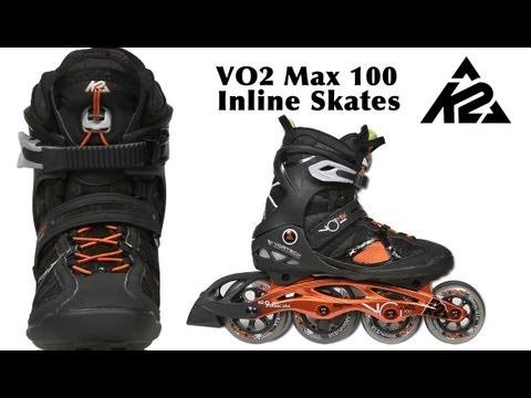 Inline Skates k2 Moto 100 k2 Vo2 Max 100 Inline Skates