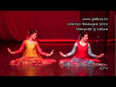 Manpreet And Naina  Warrior Bhangra 2012 video