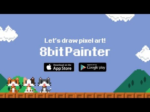 8bit Painter - Super Simple Pixel Art App APK Cover