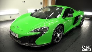 Complete Clean - McLaren 650S at Topaz Detailing London