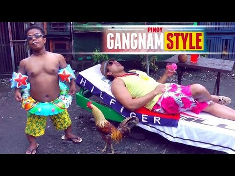 � PINOY GANGNAM STYLE!! - Starring Eruption (Eric Tai) from It's Showtime! // Philippines