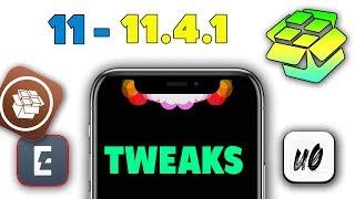 Top 5 iOS 11 - 11.4 - 11.4.1 Jailbreak Tweaks! (Unc0ver & Electra 2019)