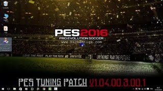 How to install PES Tuning Patch 2016 v1.04.00.3.00.1