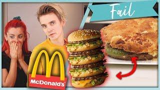 Making a Giant MEGALADON MAC Burger