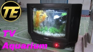 How To Build a TV Aquarium
