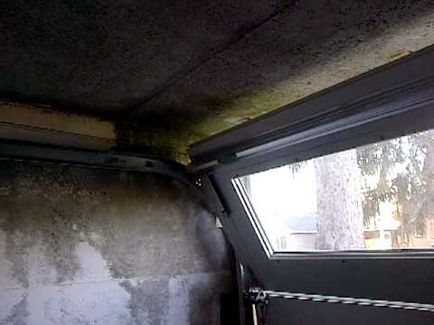 Garage Door With Less Than Zero Headroom Track Is 5