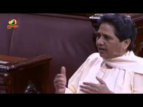 Mayawati in Rajya Sabha session over Modi comments about India