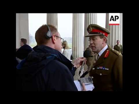 Britain's Prince William starts training at military academy
