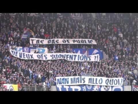 Quelques impressions du cortège et du match Racing Strasbourg - FC Mulhouse samedi 06.04.2013 au stade de la Meinau (CFA). Ein paar Eindrücke von der Prozess...