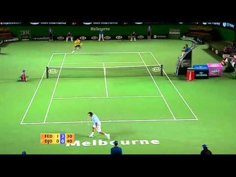 Roger Federer vs Novak Djokovic -- Australian Open 2007 R16 Highlights