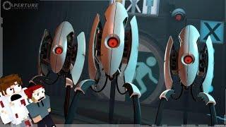 Böse Turrets!   Portal 2