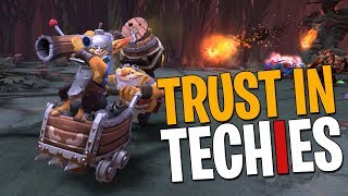 Trust in Techies 2018! - DotA 2 Funny Moments