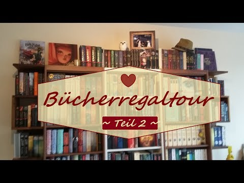 Bücherregaltour Update 2017 | Teil 2