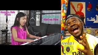 download lagu Alicia Keys - Girl On Fire Amazing Cover By gratis