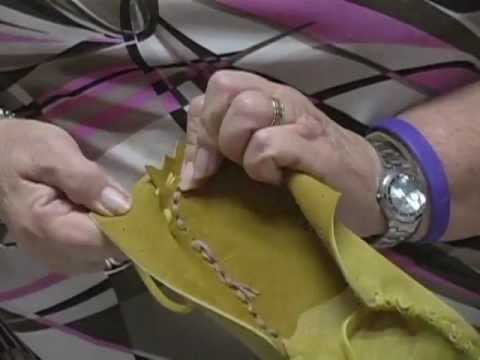 Making Moccasins with Marion Martin - Part 2