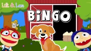 comptine B-I-N-G-O - bingo chanson francaise - bingo le chien chanson