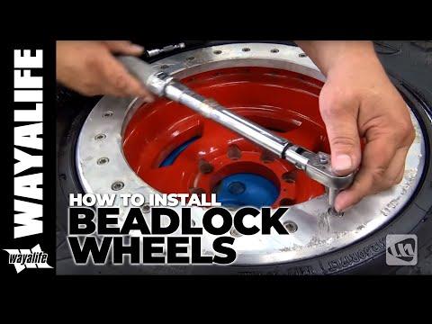 JEEP TECH : How to Install ATX Slab Bead Lock Wheels w/ Off Road Evolution