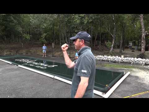 Peter Hayes - fly fishing casting demo (IFFF 2012) Malaysia